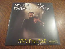 maxi 45 tours mylene farmer & sting stolen car remixes