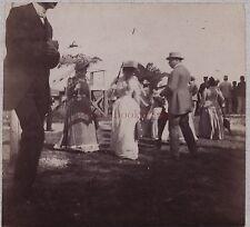 France Mode Fashion Courses Vintage albumine ca 1900