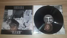 "Nirvana - Bleach  Album LP 12"" Record Vinyl Rock Grunge Kobain 2009"
