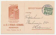 Firma briefkaart Heerenveen 1915 - Safe / Kluis / Brandkast