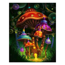 Mushroom 5D Full Drill Diamond Painting Embroidery Cross Stitch Home Decor