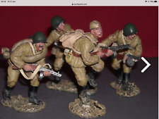 King And Country Ra08 Russian Red Army Patrol With Sergeant Bnib