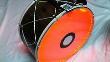 """BOGA :: 20"""" PERCUSSION  DRUM DAVUL w/ METAL CLIPS and  LIGHT !!!!!!"""
