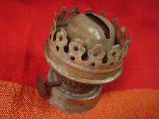 Old Brass Burner for Oil Kerosene Lamp