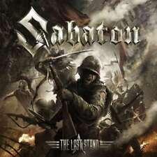 Sabaton The Last Stand CD & 2016 Nuclear Blast