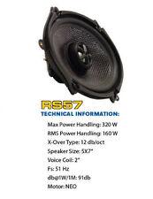 CRITICAL MASS AUDIO SPEAKER RS57 BEST SOUND JL CARBON FIBER FORD MUSTANG 5X7 6X8