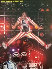 Quiet Riot, Kevin DuBrow, Full Page Vintage Pinup