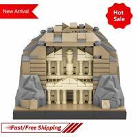 MOC Petraby Benbuildslego Indiana Jones Sun Temple Kid Building Blocks Gift Toy