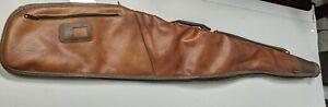 "Vintage 1970's Kolpin Vinyl rifle carry case gun bag 42"" Sporting hunting liner"