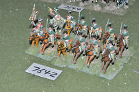 25mm napoleonic / french - chasseur a cheval 12 cavalry metal - cav (7642)