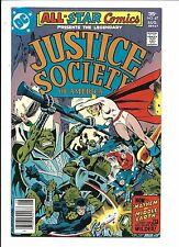 All-Star Comics #67 (JUSTICE SOCIETY OF america. AGOSTO 1977),ottime condizioni
