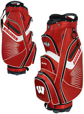 Team Effort The Bucket II Cooler NCAA Collegiate Golf Cart Bag Wisconsin Badgers