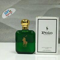 Polo Green Cologne Ralph Lauren for Men 4.0 oz/ 110 ml EDT Spray IN WHITE Box
