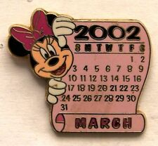 Disney Pin DS 12 Months of Magic Calendar Series March Minnie Mouse
