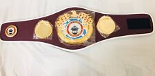 New WBO Championship Replica Boxing Belt, Adult Size, Synthetic Leather With Box