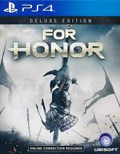 For Honor Deluxe Edition PS4 Game Region Free - Ship with tracking