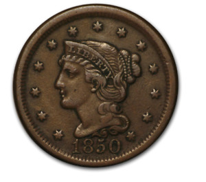 1808-1857 Large Cent - Circulated