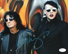 Alice Cooper JSA Certified Auto Signed 8x10 Photograph