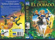 The Road To El Dorado Video Promo Sample Sleeve/Cover #11379