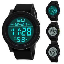 SKMEI Mens Boys LED Digital Sport Watch Waterproof Date Army Military Stopwatch