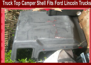 Truck Bed Top Camper Shell Fit Ford Lincoln Chevrolet San Diego Poway