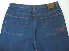 Polo Jeans Co. Ralph Lauren Dark Loose Denim Jeans Tag Mens Size 38x30