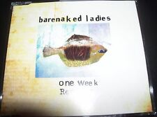 Barenaked Ladies ‎– One Week (Remixes) Australian Single – Like New