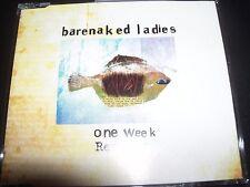 Barenaked Ladies – One Week (Remixes) Australian Single – Like New
