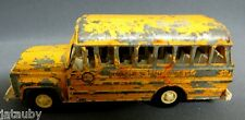 "TOOTSIETOY TOWNSHIP JR HIGH SCHOOL BUS Made in USA 5 1/4"" Long Tootsie Toy Vinta"