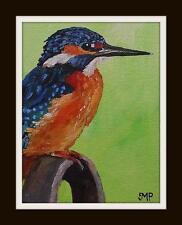 Original Impressionist Painting by Melanie Reynoso Parker : The Kingfisher