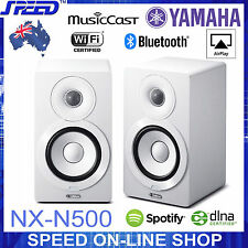 Yamaha NX-N500 Wireless Bluetooth AirPlay 90W Speakers - White - Carton Damage