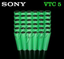 36 SONY VTC5 US18650 2600mAh High Drain Li-ion Flat Top Rechargeable Battery