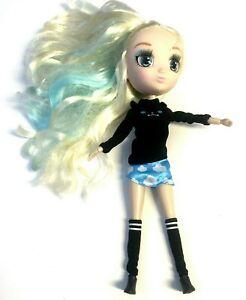 Hunter Kawaii Blue Doll Blonde Clothes and Shoes Big Head Long Hair