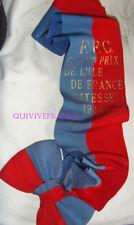 ECHARPE GRAND PRIX ILE DE FRANCE VITESSE 1944 FEDERATION FRANÇAISE DE CYCLISME