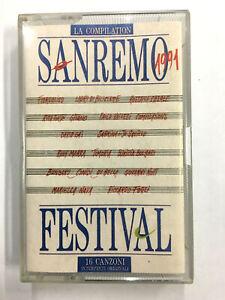 MC SANREMO FESTIVAL 1991 - MC MUSICASSETTA NUOVA NON SIGILLATA