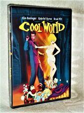Cool World (DVD, 1992) Gabriel Byrne Kim Basinger Brad Pitt Ralph Baskshi comedy
