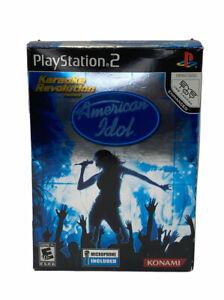 Karaoke Revolution Presents: American Idol Bundle (Sony PlayStation 2, 2007)