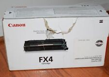Canon FX4 OEM Black Toner Cartridge 4,000 Page-Yield LC8500 LC9000 1558A002 FX 4