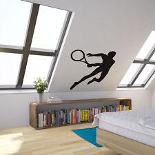 TENNISTA Vinile Wall Art Decalcomania per Home Decor/interior design/camera da letto.