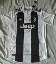 2018-19 JUVENTUS SHIRT HAND SIGNED BY 15 PLAYERS CRISTIANO RONALDO DYBALA TEAM