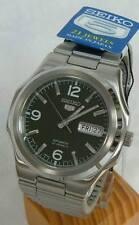 Reloj Automático para Hombre Seiko 5 Verde Dial Octagon Japón SNKK 57J1 Reino Unido Vendedor