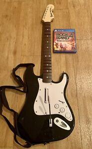 Rockband 4 Guitar Controller PlayStation 4 PS4 + GAME Fender Rock Band