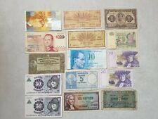 More details for denmark sweden iceland luxembourg norway finland switzerland lot banknotes
