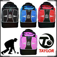 Taylor Lawn Bowls Gym Bags Mini Sports Holdall Unisex Red Blue Pink Black UK