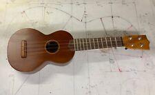 Ken Timms  Soprano Ukulele  ( reclaimed Cuban mahogany )