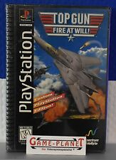 Ton Gun Fire at will  OVP Sony Playstation 1 P1 PSX Pone NEU in Folie NEW BOX