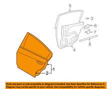 NISSAN OEM 07-12 Altima Rear Door-Shell Frame Panel Right 821009HA0A
