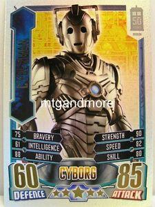 #005 Cyberman - Rainbow Foil - Alien Attax Doctor Who - 50th Anni