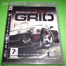 GRID RACE DRIVER NUEVO Y PRECINTADO PAL ESPAÑA PLAYSTATION 3 PS3