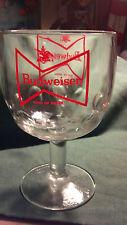 Budweiser Glass Goblet